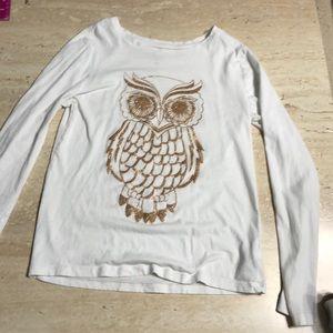 White Owl Tee